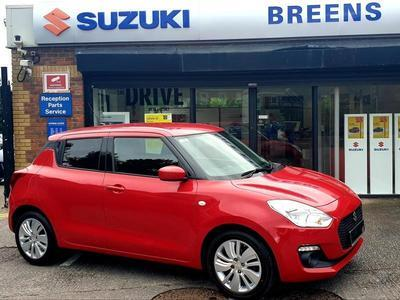 Suzuki Swift 1.0 SZ-T Boosterjet From 52 P/Week with a minimum 10% deposit. T's & C's apply Hatchback Petrol Red